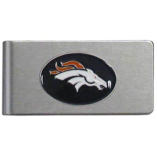 - NFL Denver Broncos Brushed Money Clip