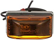 Seachoice 52521 Sealed Marker/Clearance Lights – Waterproof – Stainless-Steel Base, Amber, One Size