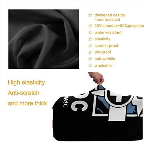 スーツケースカバー キャリーカバー レインボーシックス ラゲッジカバー トランクカバー 伸縮素材 かわいい 洗える トラベルダストカバー 荷物カバー 保護カバー 旅行 おしゃれ S M L XL 傷防止 防塵カバー 1枚