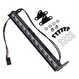 Homyl Waterproof Metal LED Light Bar for Traxxas TRX-4 Wrangler 1/10 Rock Crawler