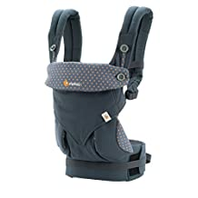 Ergobaby Four Position 360 Baby Carrier, Dusty Blue