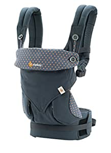 Ergobaby 360 All Carry Positions Award-Winning Ergonomic Baby Carrier, Dusty Blue