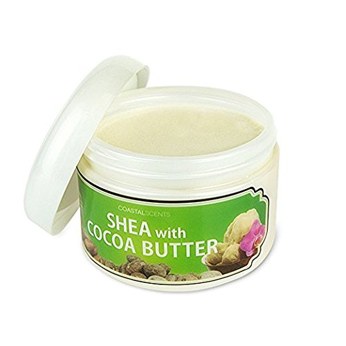 Coastal Scents Shea with Cocoa Butter 10 (Butter 10 Oz Jar)