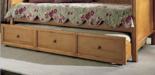 Maple Finish Wood Daybed - 2