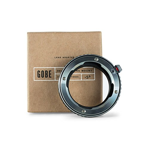 Gobe Lens Adapter: Compatible with Leica M-mount Lens and Nikon F-mount Camera Body by Gobe