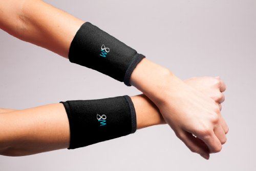 W8FIT Adjustable Weighted Wrist Arm Weights Cuffs 1/2 LB each, Set of 2