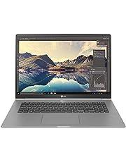 """LG Gram Laptop 17Z990, Display 17"""" QHD 16:10 IPS, Processore Intel i7-8565U (Turbo Boost 4.6GHz), RAM 16GB DDR4, SSD 512GB, Grafica Intel UHD 620, HD Audio, Windows 10 Home, TPM, Silver"""