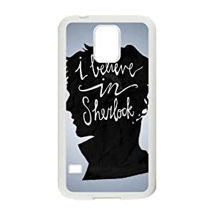 zZzZzZ Sherlock Shell Phone For Samsung Galaxy S5 I9600 Cell Phone Case
