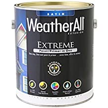 true value mfg company waes1-gl WAES1, True Value, Premium Weatherall Extreme Paint/Primer In One, Gallon, Jamestown Red