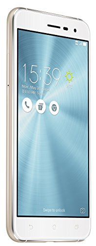 Asus ZenFone 3 (ZE520KL) Dual-SIM Smartphone (13,2 cm (5,2 Zoll) Full-HD Touch-Display, 32 GB Speicher, Android 6.0) weiß (Moonlight White)