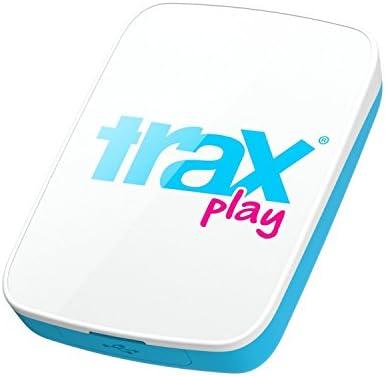 Trax Play NEUES verbessertes Live draussen GPS Ortungsgerät für Kinder und Haustiere, blau