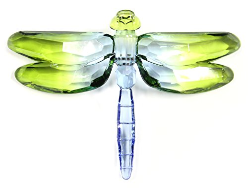 (Crystal Expressions Acrylic 4x6 Inch 2 Tone Dragonfly Ornament/ Sun-Catcher)