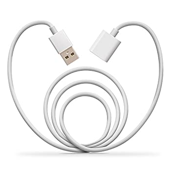 """Apple Pencil Charging Cable,Jelanry 5ft/1.5M Apple Pencil Flexible Charging Adapter Male to Female Extension USB Charger Adapter Lightning Cable for iPad Pro 12.9"""" 9.7"""""""