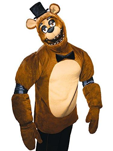 (Rubie's Costume Co Five Nights Adult Freddy Costume, Multi,)