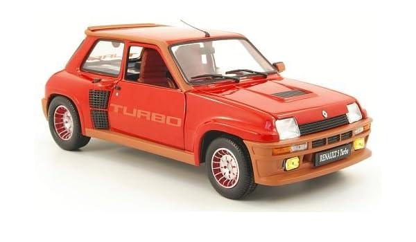 Renault 5 Turbo, rojo, Modelo de Auto, modello completo, UH 1:18: Amazon.es: Juguetes y juegos