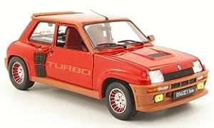 Renault 5 Turbo, rojo, Modelo de Auto, modello completo, UH 1:18