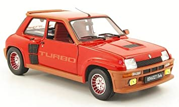 Renault 5 Turbo, rojo, Modelo de Auto, modello completo, UH 1:
