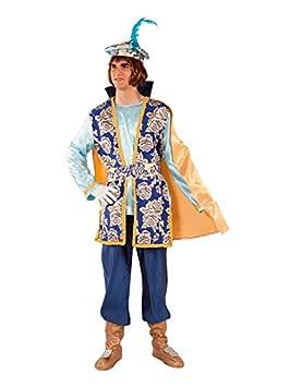 DISBACANAL Disfraz de PAJE Gaspar para Hombre - Único, XL: Amazon ...