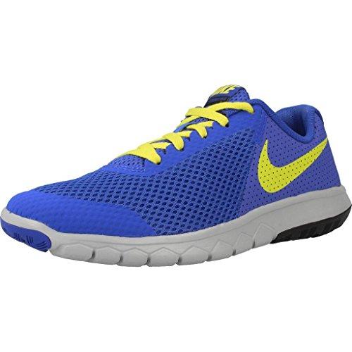 Nike Unisex-Kinder Flex Experience 5 GS Laufschuhe Blau