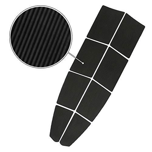 - BPS 8-Piece SUP Traction Pad (EVA Foam - 3M Sticker) - Charcoal Black