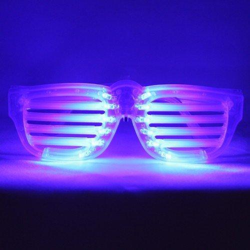 LED Rock Star Shutter Blue - Eyewear Rockstar
