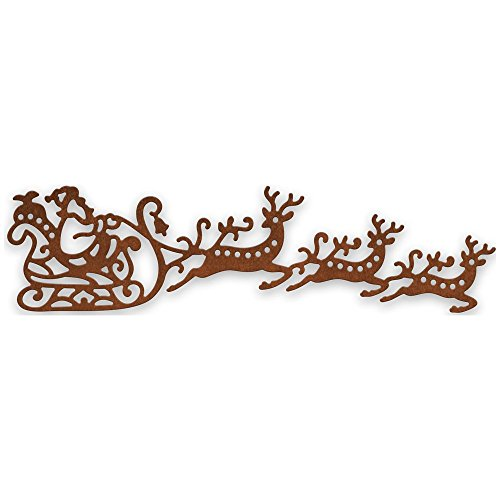 Cheery Lynn Designs CABD5 Santa's Sleigh with Presents