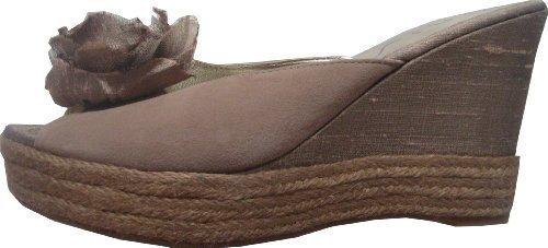 Unisa Peeptoe - Sandalias de Vestir de cuero Mujer marrón - Marrón-marrón