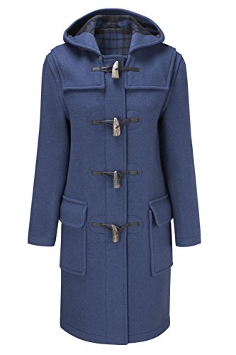 Original Montgomery Womens Duffle Coat -- Indigo Size 10 Womens Toggle Coat