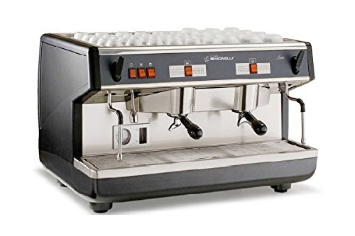 Nuova Simonelli Appia II Semi-Auto 2 Group Espresso Machine MAPPIA5SEM02DD002 with Free Espresso Starter Kit and 3M Water Filter System