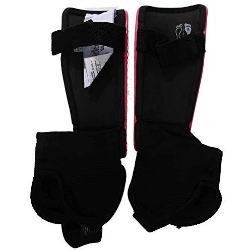 f08b34838052 adidas Performance F50 Youth Shin Guard, Solar Pink/Lucky Pink, Medium