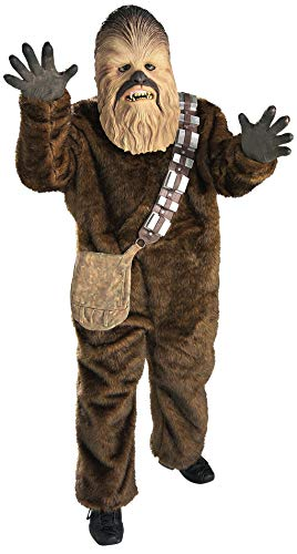 Rubie's Star Wars Classic Child's Deluxe Chewbacca Costume, Medium]()