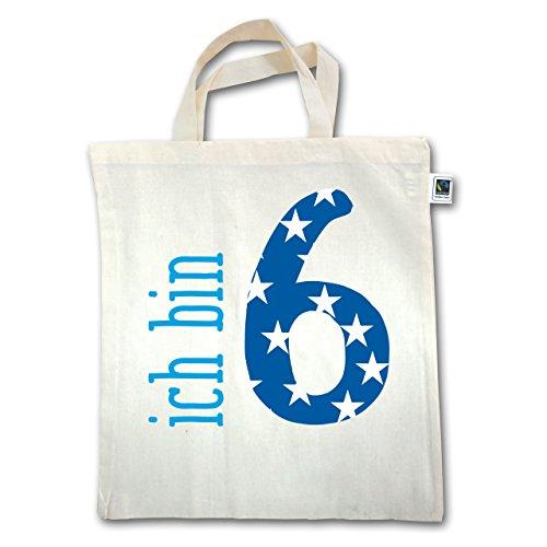 Compleanno Bambino - I Am 6 Blue Boy - Unisize - Natural - Xt500 - Manico Corto In Juta