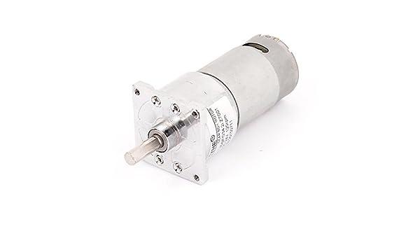 eDealMax DC 24V 120 rpm Par de alta velocidad de soldadura eléctrica de baja cilíndrica caja de engranajes del motor - - Amazon.com