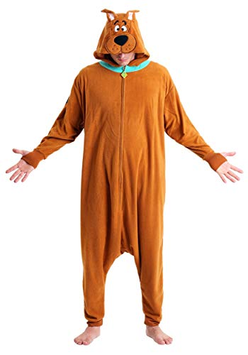 Underboss Men's Scooby Doo Onesie Kigarumi Pajamas with Hood (One Size) Brown for $<!--$29.99-->