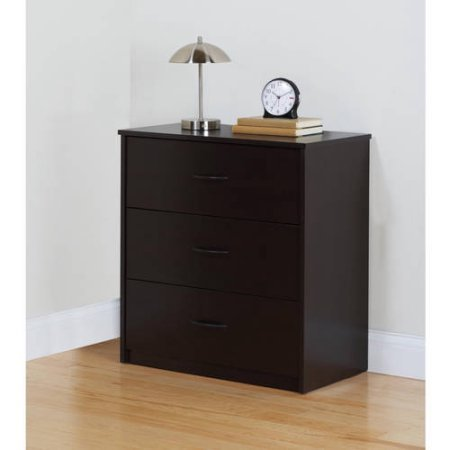 Mainstays 3-Drawer Dresser,Cinnamon Cherry