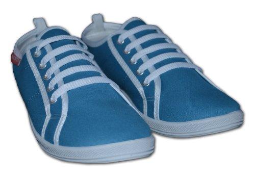 Red Tag , Mädchen Schnürhalbschuhe, Blau - Aqua blue - Größe: 7 UK