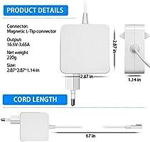 Adaptador de Corriente 60W MagSafe 1 Cargador Macbook Pro 13