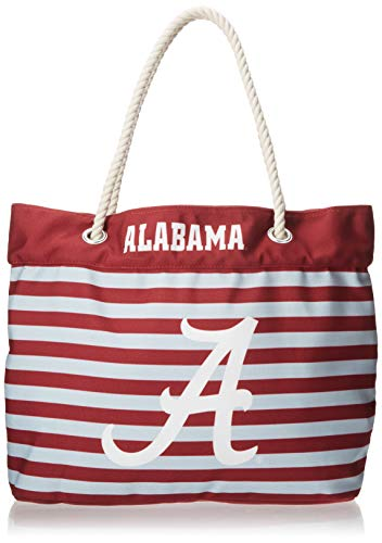 FOCO Alabama Nautical Stripe Tote Bag by FOCO