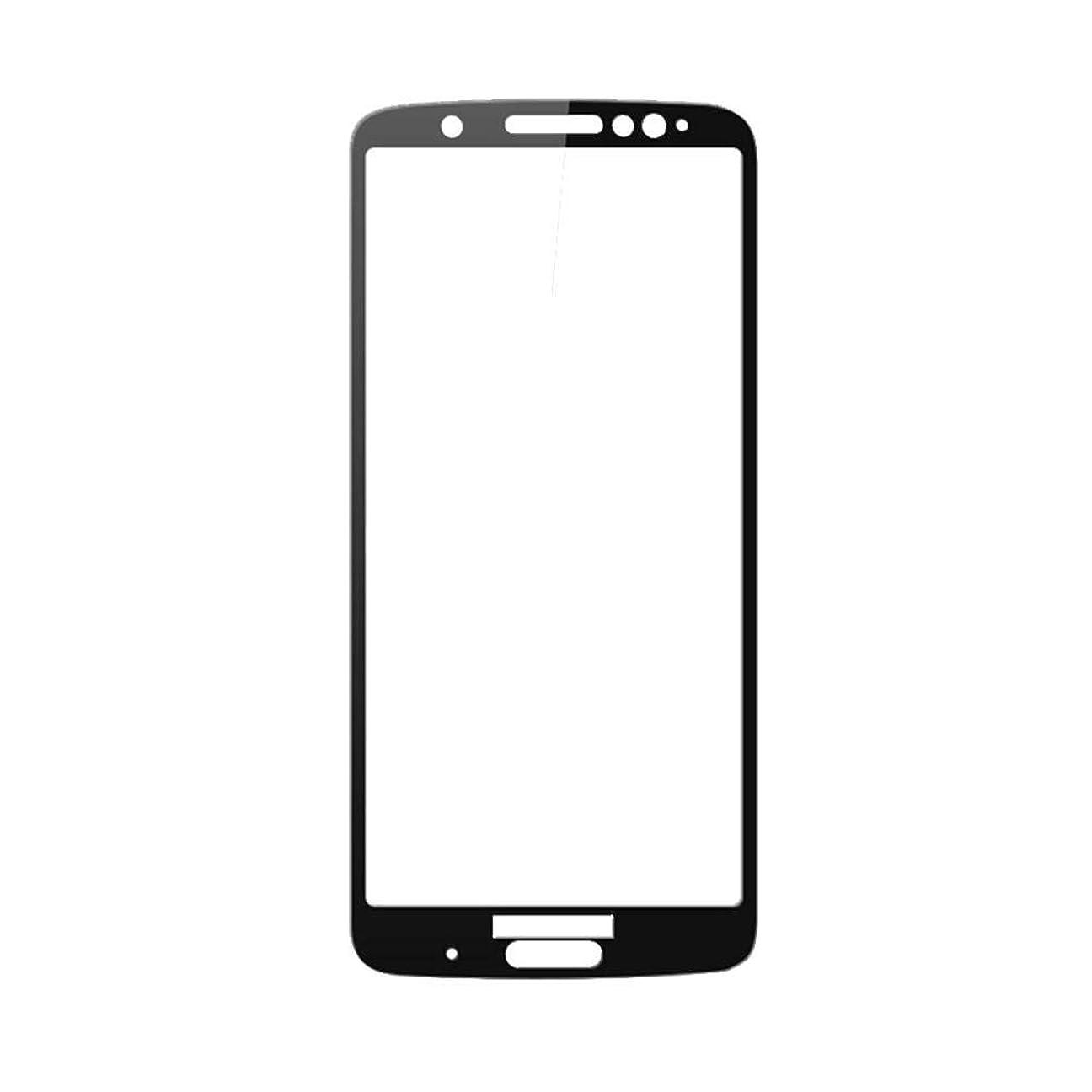 注入ほうき戸口Samsung Galaxy S10+ スクリーンプロテクター、AICase 強化ガラス、3Dフルカーブドエッジ超音波指紋スクリーンカバーシールド液体分散技術、UVライト付き、サムスンS10 +用