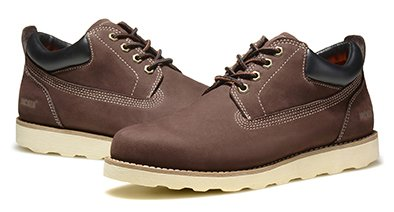 18db831cea70 Jacata Men s Low Cut Work or Casual Nubuck Boot with Scothguard 3m  Protection 100% Water Resistant Boot (8