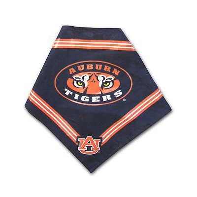 Collegiate Auburn Tigers Pet Bandana, Medium/Large - Dog Bandana must-have for Birthdays, Parties, Sports Games etc..