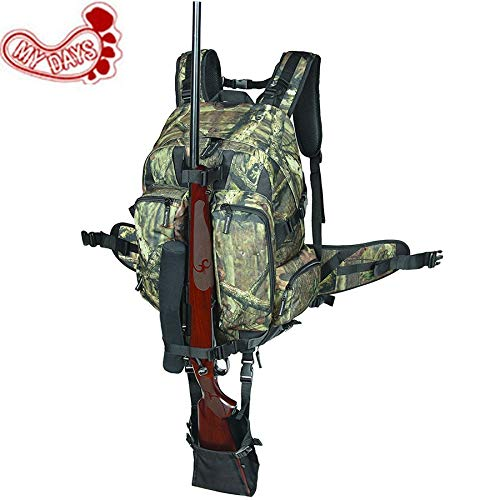- Best Quality - Holsters - Camouflage Tactical Rifle Backpack Hunting Gun Bag Airsoft Paintball Shotgun Daypack with Integrated Gun Carry System - by DINAX - 1 PCs