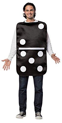 Rasta Imposta Mens Domino  Black White  One Size