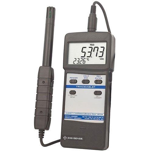Digi-Sense EW-90080-04 Humidity/Thermometer Meter with Remote Probe