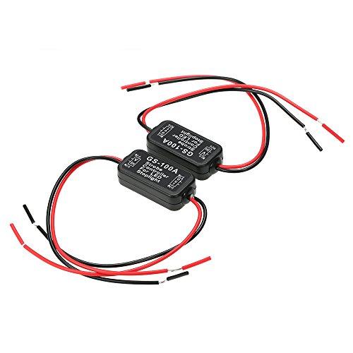 2 Strobe Controller - KKmoon 2 PCS GS-100A Flash Strobe Controller Brake Light Flasher Module for Car LED Brake Stop Tail Lamp DC 6-30V