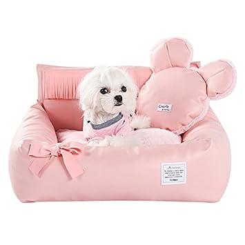 Petacc Cama para mascotas en el interior del vehículo Cómodo Salón de mascotas con doble uso