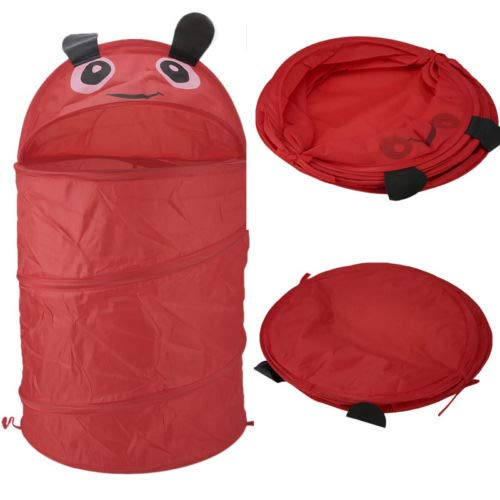 Autumn Water Save Foldable Storage Laundry Hamper Clothes Basket Animal Scarab Laundry Washing Bag by Autumn Water