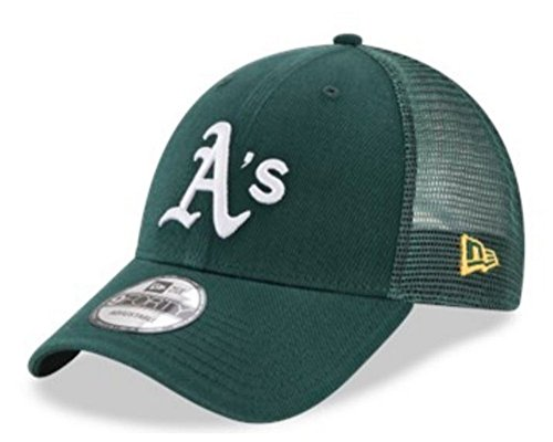 New Era 9Forty Hat MLB Oakland Athletics Green Trucker for sale  Delivered anywhere in USA
