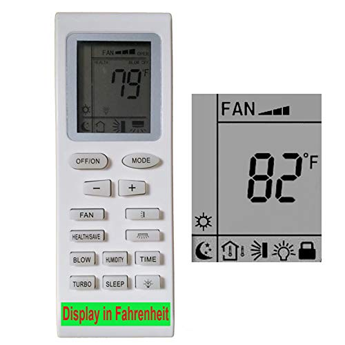 YING RAY Replacement for Thermal Zone Air Conditioner Remote