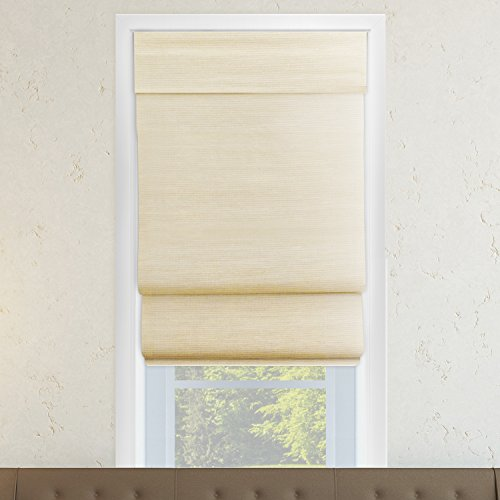 Chicology Cordless Double Layered Roman Shades / Window B...